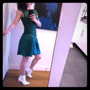 Alberta Feretti green dress